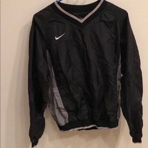 Nike crew neck windbreaker